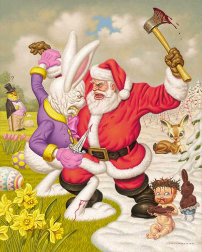 Todd Schorr: Clash of the Holidays