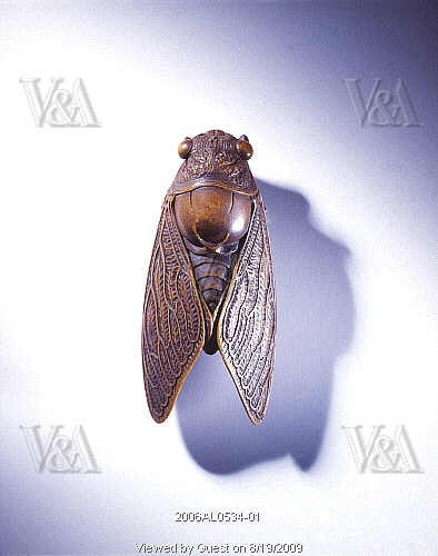 Fly Netsuke, V&A Museum, London.